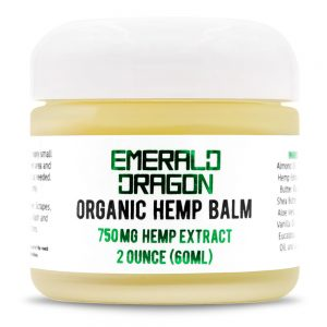 750mg CBD salve - Emerald Dragon CBD